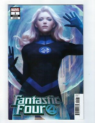 Fantastic Four # 1 Invisible Woman Artgerm Variant Cover