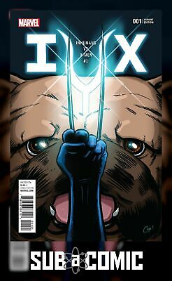 IVX #1 PARTY VARIANT (MARVEL 2016 1st Print) COMIC