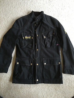 1c6dcba798 Belstaff Trialmaster Che Guevara 1948 Black Jacket Made in Italy Modified  Size S