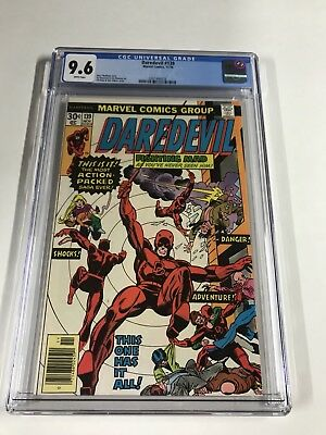 Daredevil 139 Cgc 9.6 White Pages