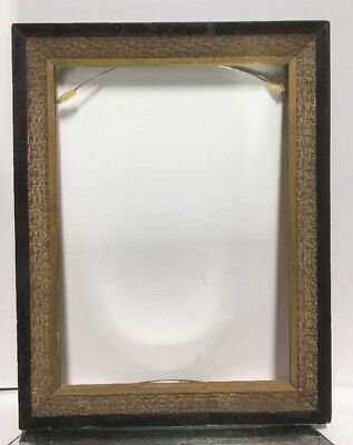"""VTG. Arts and Crafts Mission Picture Frame Fits 9 1/2"""" x 13"""""""