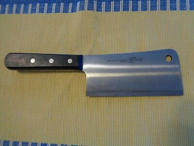 """J A Henckels Vegetable Cleaver 6"""" Beats a Chef's Knife  Why Pay Retail?"""
