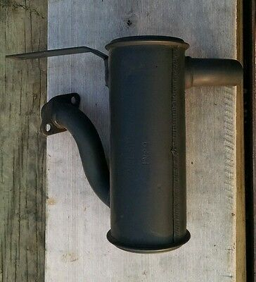NOS New Old Stock NELSON 0491 Briggs Stratton 11 12hp Air Cooled Engine Muffler