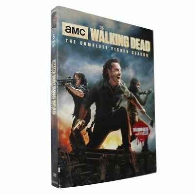 The Walking Dead: The Complete Eighth Season 8 (DVD) FREE 2-3 EXPEDITED SHIPPING