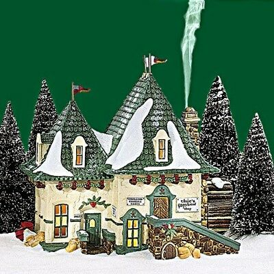 Elsies Gingerbread Dept 56 North Pole Village 56398 Christmas Snow NEW house A