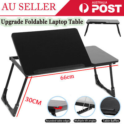 Portable Laptop PC Notebook Stand Desk Table Tray Sofa bed Foldable Adjustable