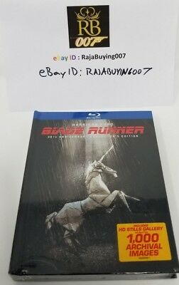 Blade Runner Bluray 3-Disc Digibook 30th Anniversary Collector's Edition CE New