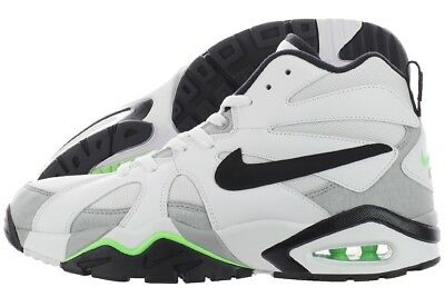 meet e5c2d e443a Nike Air Diamond Fury 96 724971-101 Retro White Black Gray Mesh Shoes  Medium Men