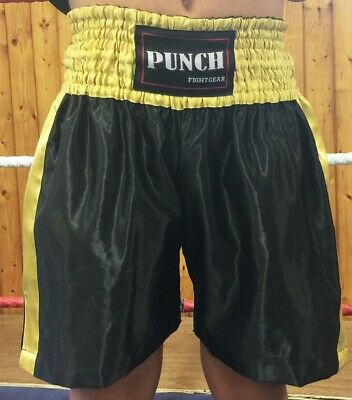 Boxing shorts Black & Gold