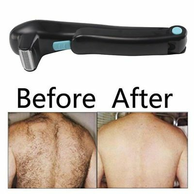 Electric Back Hair Shaver Remover Tool Cutter Shaving Trimmer Clippers Groomer