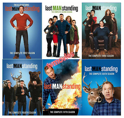 NEW Last Man Standing: Complete Season 1-6 (DVD,18-Disc Set) 1 2 3 4 5 & 6