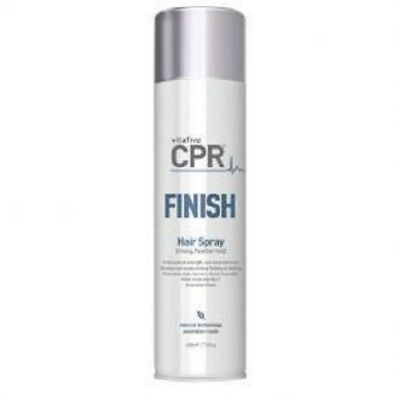 VitaFive CPR Finish Hair Spray 400ml Strong Flexible Hold Vita 5