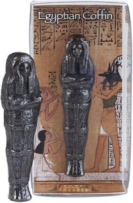 Bronze Egyptian Mummy Coffin Statue