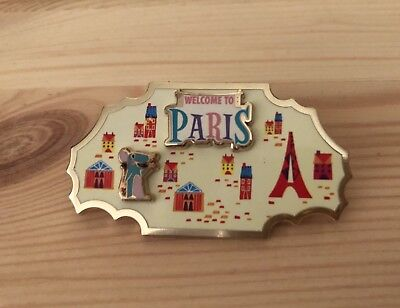 Disney Movie Rewards Pin #4 Paris DMR Ratatouille Sold Out Around the World