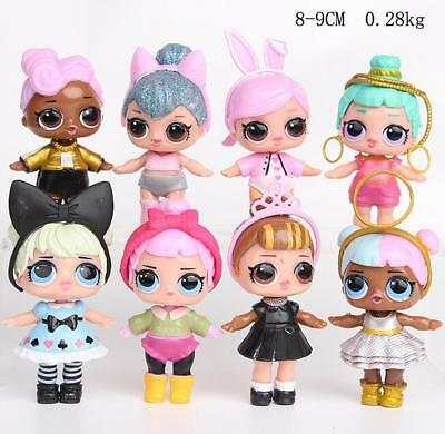 New 8 LOL Lil Outrageous 7 Layer Surprise Ball Series Dolls Kids Toy Gifts 2018