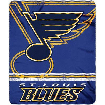 The Northwest Company St. Louis Blues Fade Away Fleece Throw Blanket 1d1af4742