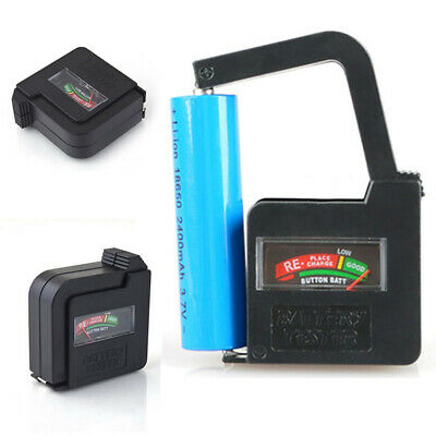 Universal Button Cell Coin Battery Volt Tester Checker for AA/AAA/C/D/18650