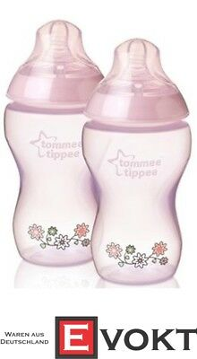 TOMMEE TIPPEE Closer To Nature Anti Colic Bottle 340 Ml 2 Pieces Set Pink