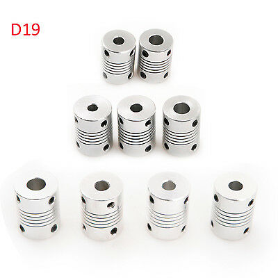 1/2/5pcs CNC Motor Shaft Coupler Flexible Coupling 3D Printer 9 Sizes