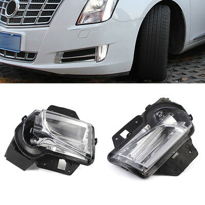 2 PCS LED DRL Daytime Running Light Lamp Kit Fit For Cadillac XTS 2014-2016 2015