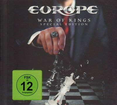 Europe(CD/DVD Album)War Of Kings-Hell & Back-825646004515-Germany-2015-New