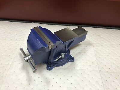 "Wilton Swivel Steel Bench Vise 6"" Jaw Width w/ Bolt Down Base C233"
