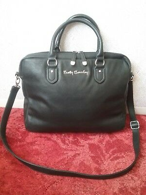 Betty Barclay Laptop Business Conference Bag Black