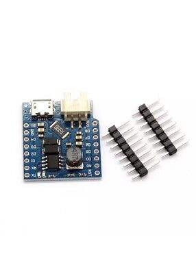 Battery Shield for WeMos D1 Mini Single Lithium Battery Charging and Boost TE668