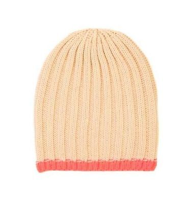 Cotton On Kids Toddler Girls Accessories Orange Colour Beanie One Size With Tag