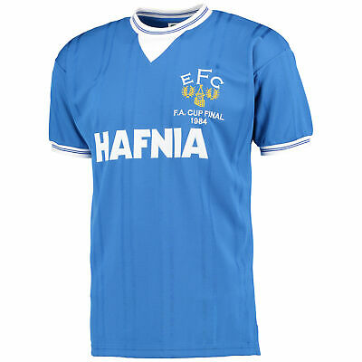 Everton 1984 FA Cup Final Retro Football Shirt Mens