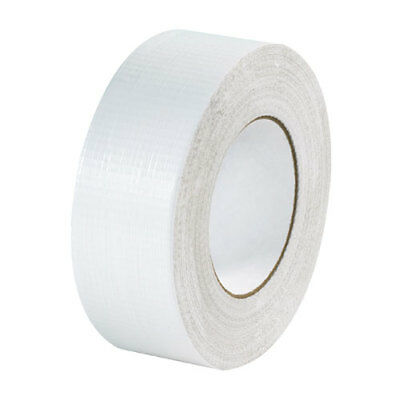 White Gaffa Gaffer Duck Duct Cloth Tape 50m x 48mm Strong Waterproof