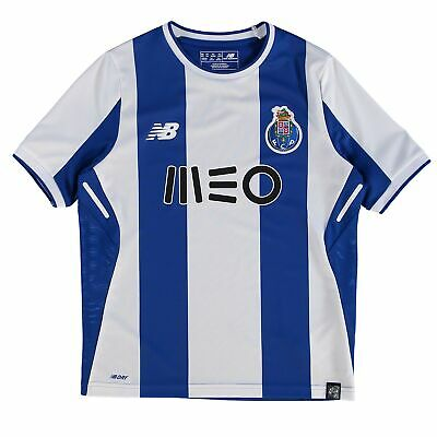Official FC Porto Football Home Jersey Shirt Tee Top 2017/18 Kids New Balance