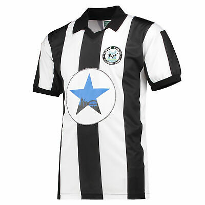 Newcastle United 1982 Retro Football Shirt Jersey Tee Top Mens