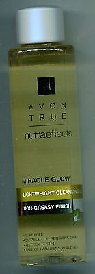 (100ml = 8,00 €) Avon - Avon True - nutraeffects - Leichtes Reinigungsöl