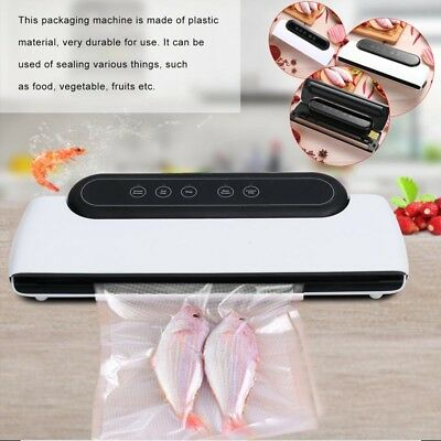 Vacuum Sealer Machine Food Storage Packaging Sealing System Saver Heat AU Plug