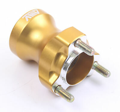 Go Kart AMV Aluminium Medium Front Hub 25mm x 75mm Gold Race Racing Karting