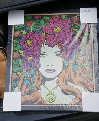 """""""Eirene"""" Art Print Poster Oak Panel By Chuck Sperry #ed/30 RARE SOLD OUT 311"""
