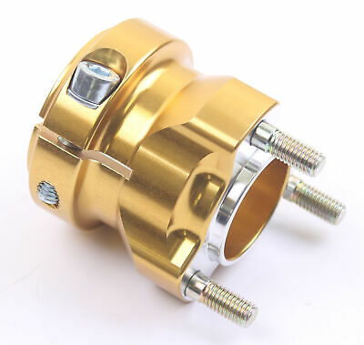 Go Kart AMV Aluminium Short Rear Hub 40mm x 65mm Gold Race Racing Karting