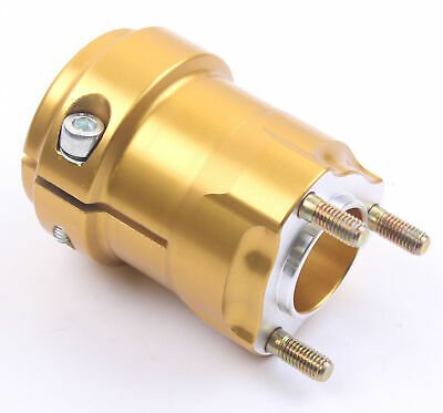 Go Kart AMV Aluminium Medium Rear Hub 40mm x 95mm Gold Race Racing Karting