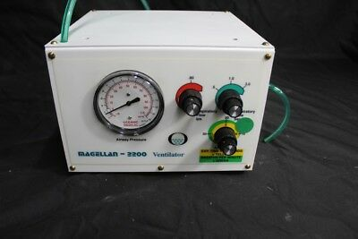 Oceanic Medical Magellan Ventilator MRI Portable Pneumatic Powered