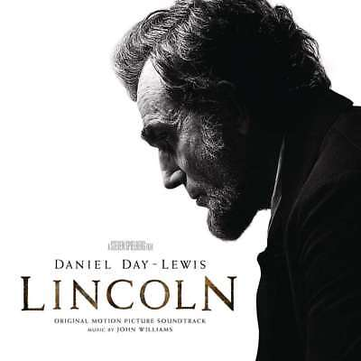 New: LINCOLN - Original Motion Picture Soundtrack (John Williams/Movies) CD