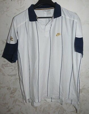 Maglia Shirt Polo Jersey Maillot Camisa Tennis Nike Supreme Court Usa Xl Vintage