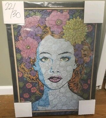 """""""Truth"""" Art Print Poster Oak Panel By Chuck Sperry #ed/30 RARE SOLD OUT FT Wayne"""