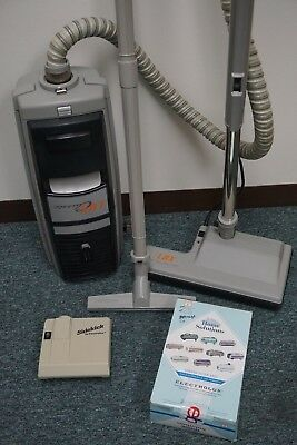 ELECTROLUX LUX CLASSIC Canister Vaccum Power Head Hard Floor Bags Aerus  CLEANED