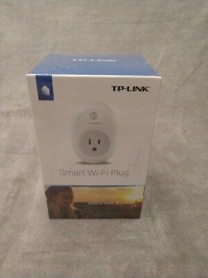 New! TP-Link Enable Wifi Smart Plug HS-100 Control Your Devices Anytime Anywhere