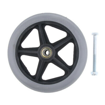 Wheelchair Front Castor Wheels Replacement Part Tool Accessories 6 7 8 inch