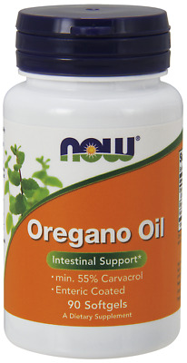 Oregano Oil 90 Softgels by NOW Foods - Intestinal Support -