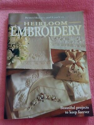 Better homes and gardens heirloom embroidery Book