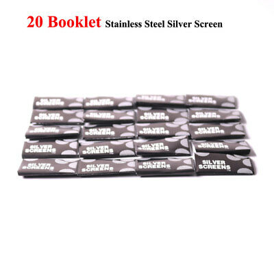 100pcs/lot 20MM Stainless Steel Screen for Metal Tobacco Pipe Smoking Filter Hot