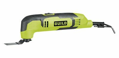 Guild 3-in-1 Multi-Tool with 10 Accessories - 250W